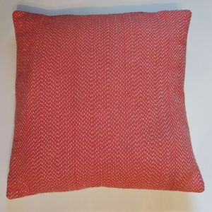 Other - 3/$15 Pink & Cream Textured Accent Pillow